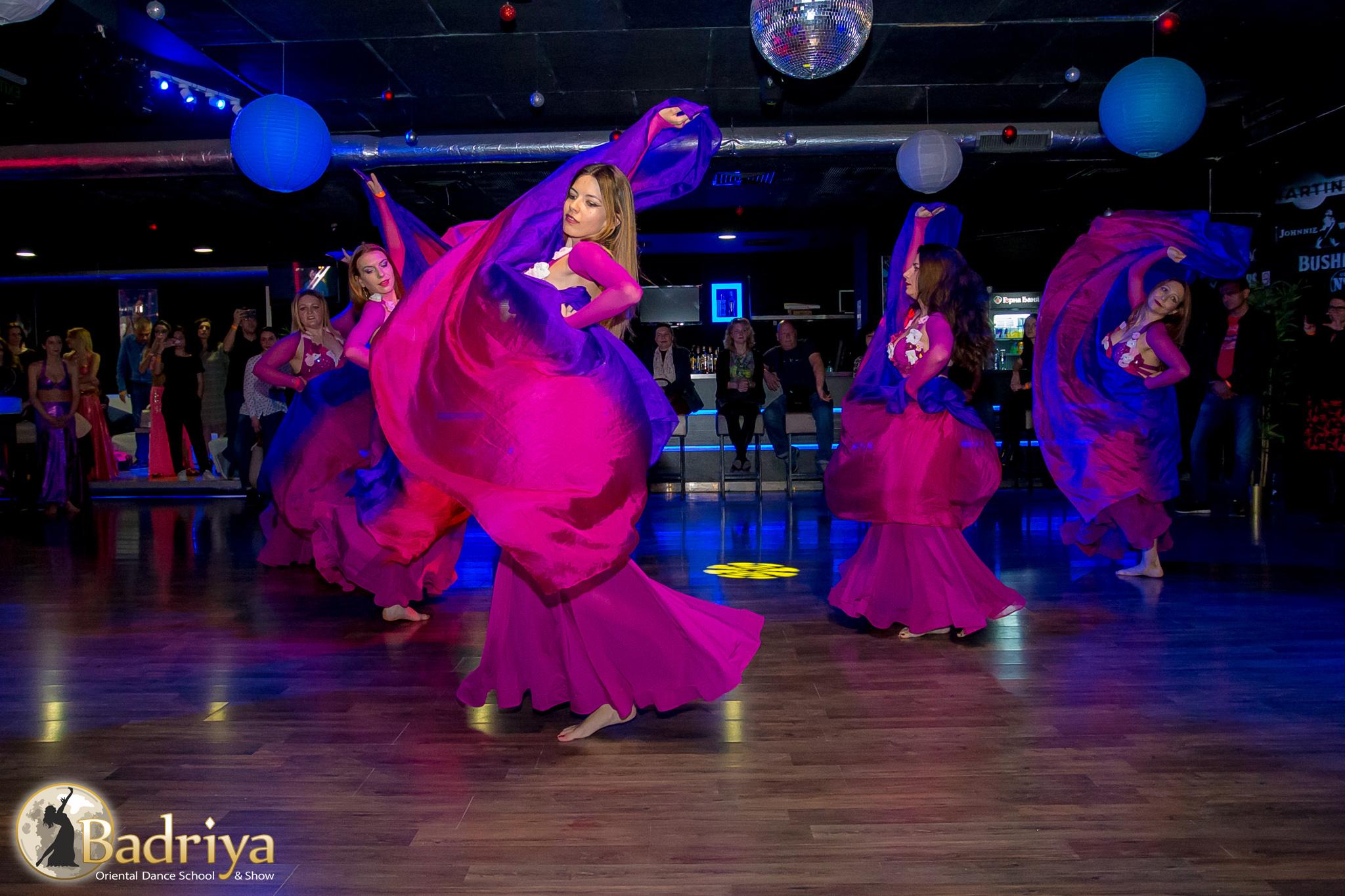ориенталско парти Калиенте, ориенталски танци калиене