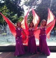 Ден на Африка, крила на Изида, ориенталски танц крила на Изида, Violeta Dance Company